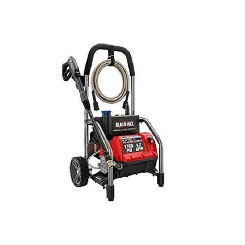 Special Offers - Black Max 1700 PSI 1.2 GPM Electric High Power Pressure Washer BM801700 - In stock & Free Shipping. You can save more money! Check It (November 26 2016 at 07:18PM) >>http://chainsawusa.net/black-max-1700-psi-1-2-gpm-electric-high-power-pressure-washer-bm801700/