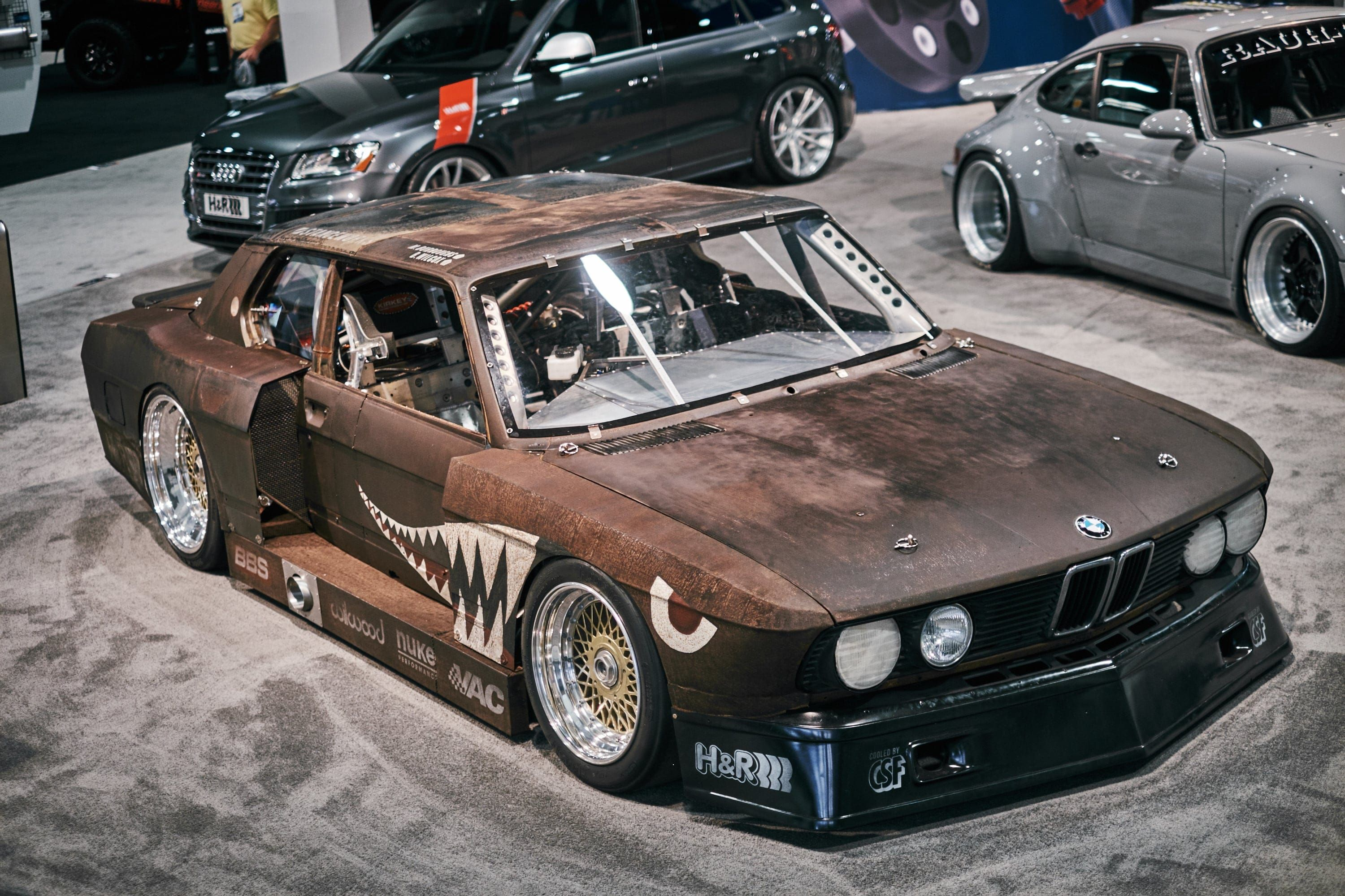 Is The BMW I Rusty Slammington The Best Modified Best Named - Best bmw ever