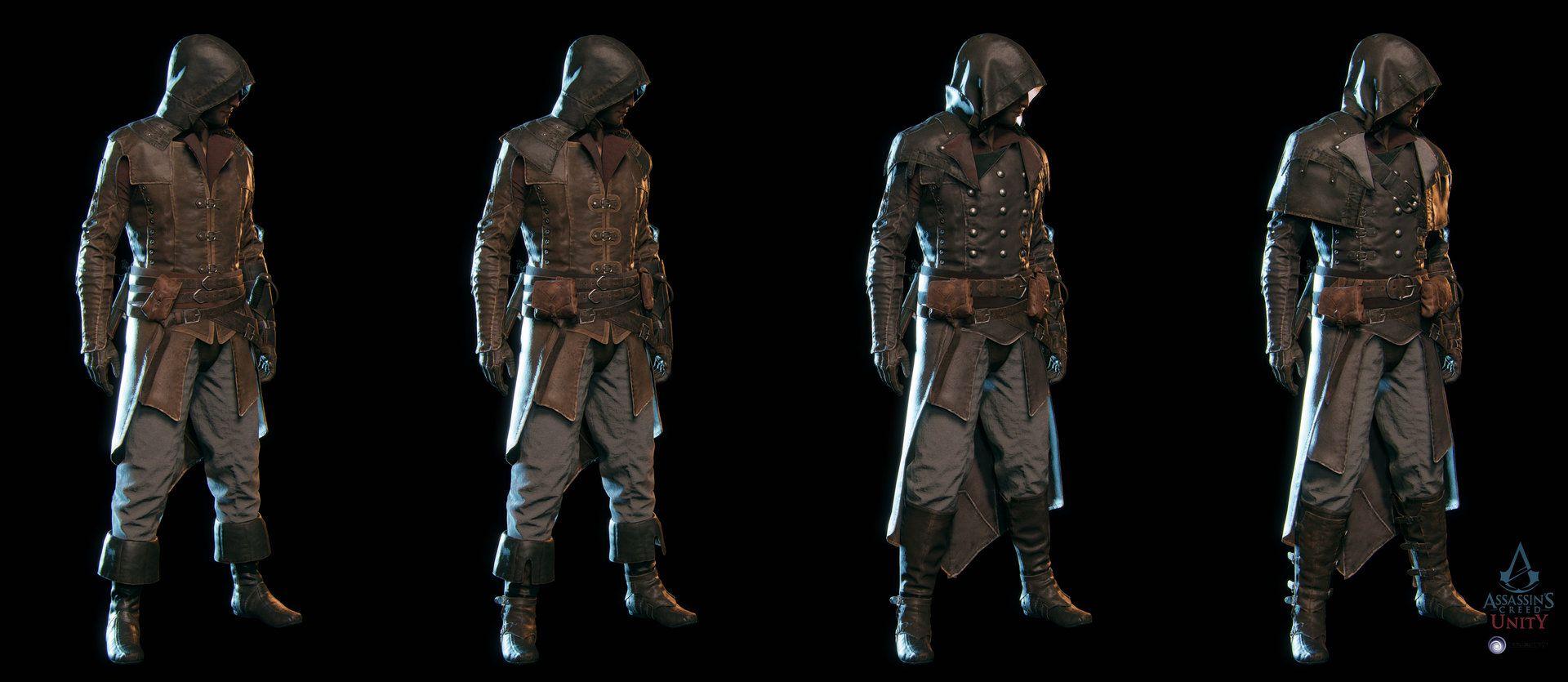 Artstation Assassin S Creed Unity Arno Avatars Vince Rizzi