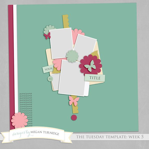 Template freebie from Designs by Megan Turnidge   Scrapbooking ...