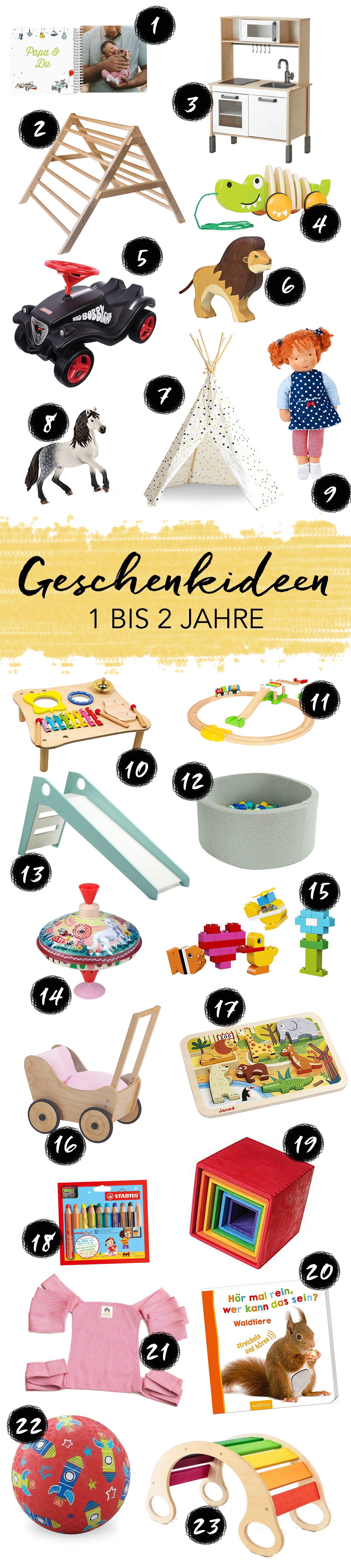 Geschenkideen für Kinder im Alter von 1 bis 2 Jahren | Elternblogs ...