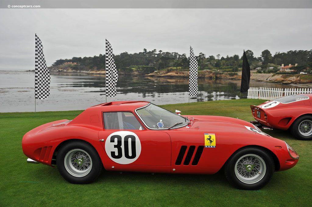 1964 Ferrari 250 Gto Series 2 Right Side View Notice The Similarity In Design W The Ferrari 250 Lm Gto Ferrari Red Car