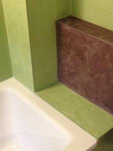 Kalkputz Wandputz Betonputz Mineralputz Wandgestaltung Naturlich Wande Wandfarbe Badezimmer Bad Ohne Fliesen Wasserfes Beton Cire Kalkputz Beton Putz