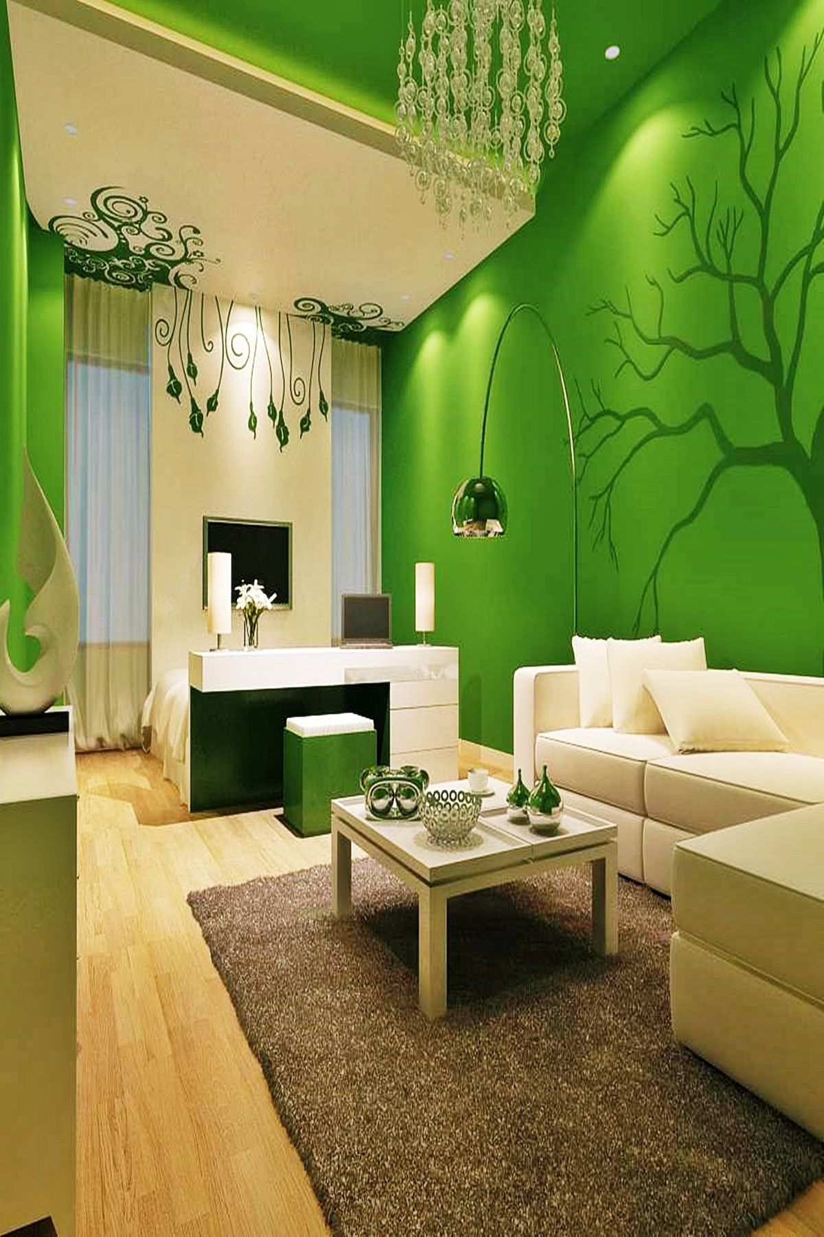 Living Room Paint Color With Green Sofa Trends 2020 Living Room