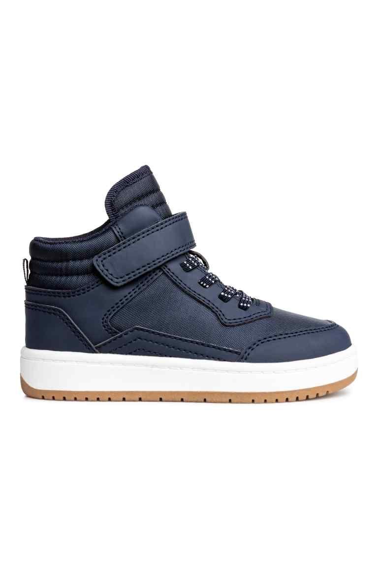 b795bd7fd722 Hi-top trainers - Dark blue - Kids