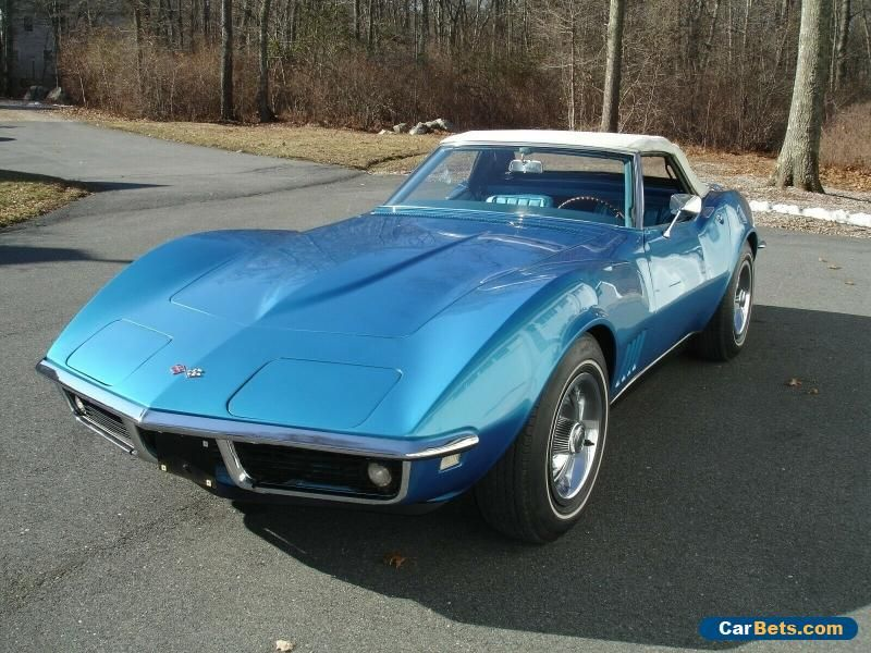Car For Sale 1968 Chevrolet Corvette Chevrolet Corvette