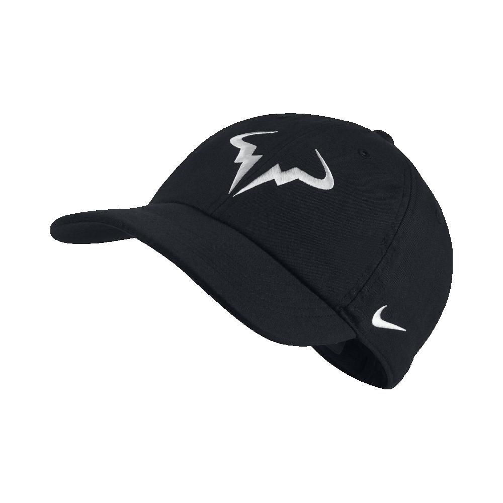 Nike NikeCourt AeroBill H86 Rafael Nadal Adjustable Tennis Hat ... bf9341a6867