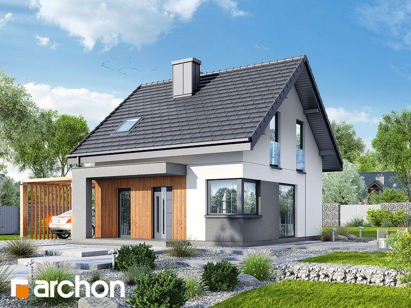 Projekt Domu Jednorodzinnego Dom W Borowkach N W 2019 Najnowsze