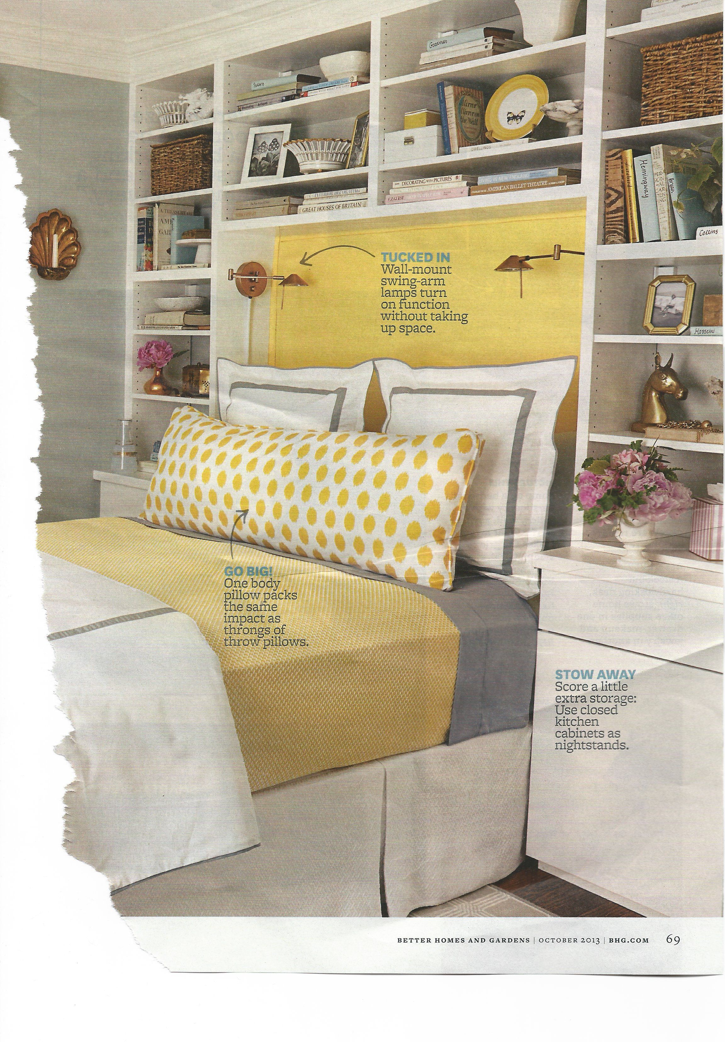 Shelves built around the bed. | For the Home in 2019 | Headboards ...