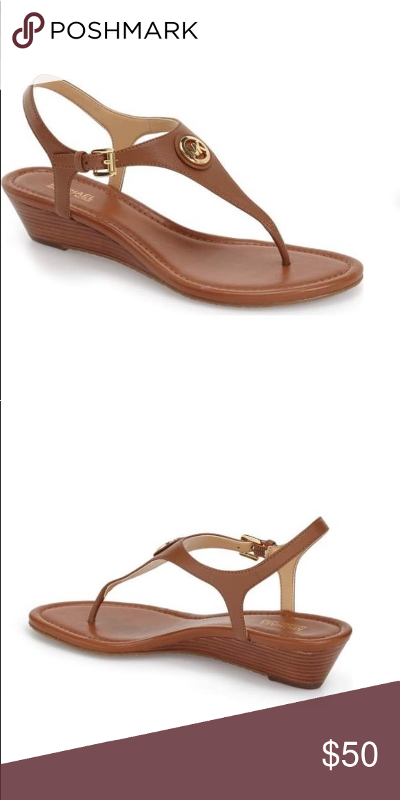 0a0c9067ef1d Delivery · Michael Kors New size 9 brown sandals MICHAEL Michael Kors size  9 brown Ramona Wedge Sandal
