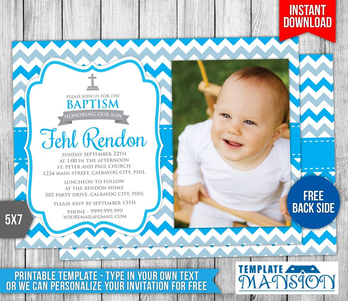 Boy baptism invitations baptism invitations pinterest boy baptism invitations stopboris Images