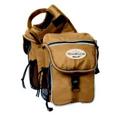 Weaver Trail Gear Pommel Bag Black Statelinetack Com Saddle Bags Horse Bags Leather