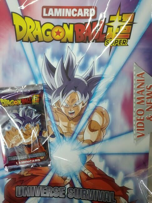 1 Bustina Dragonball Universe Survival Lamincards Raccoglitore