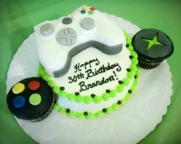 Xbox 360 birthday cake for my boyfriend My Projects Pinterest