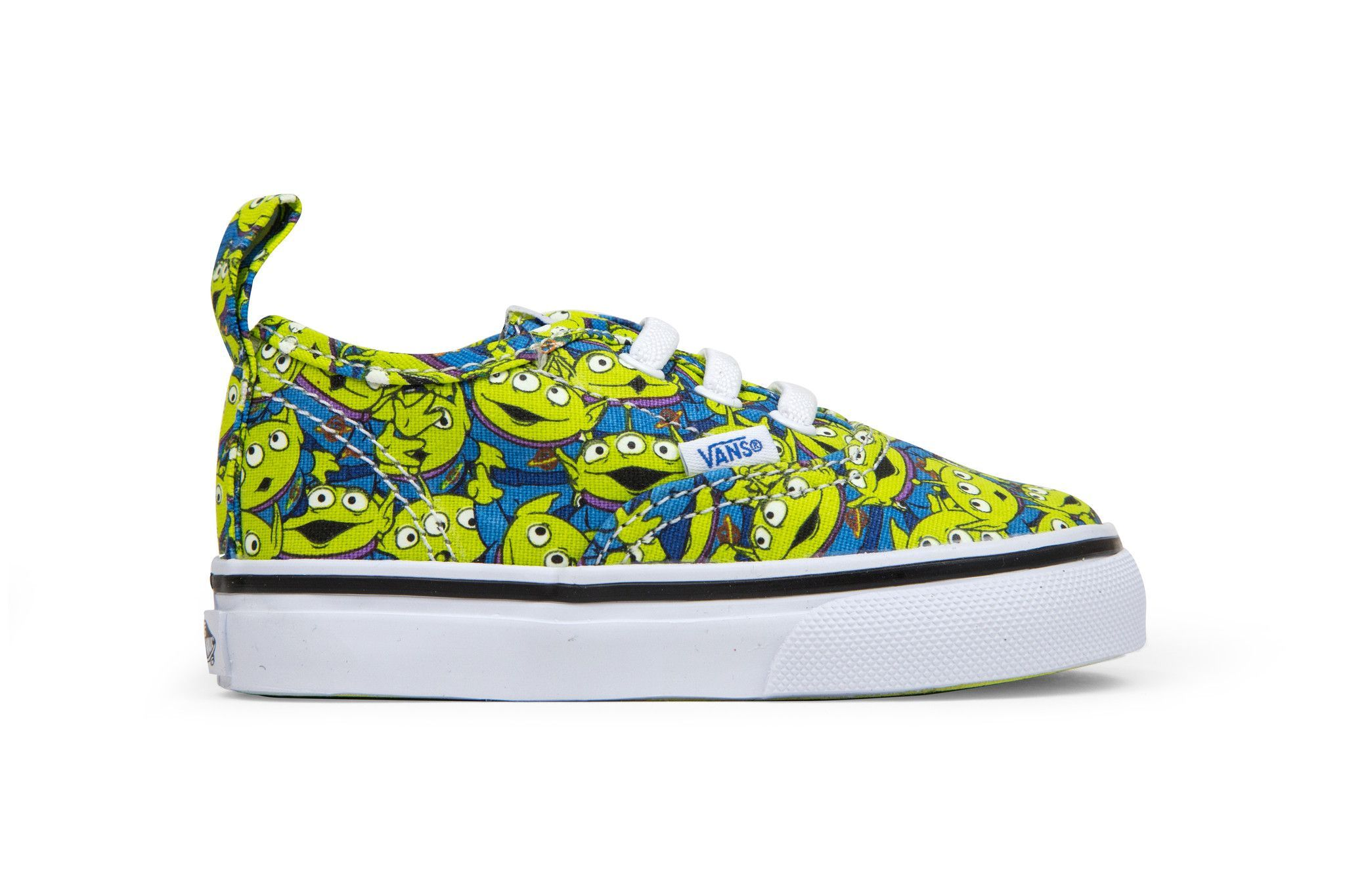 c09c77c443 Vans x Toy Story Toddler Authentic V Lace - Aliens True White ...