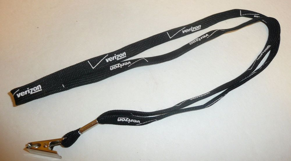 Details about Black Verizon Lanyard - Verizon Wireless
