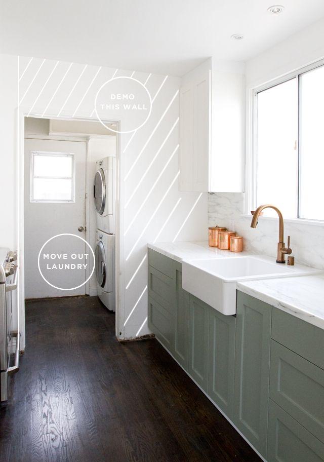 Kitchen extension plans // smitten studio - another kitchen with ...
