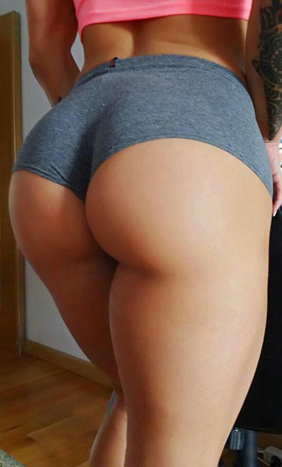 sexy Mädchen mit schönen Hintern
