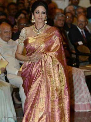 How to look like Sridevi? | Designer Saree, Anarkali Suits ...
