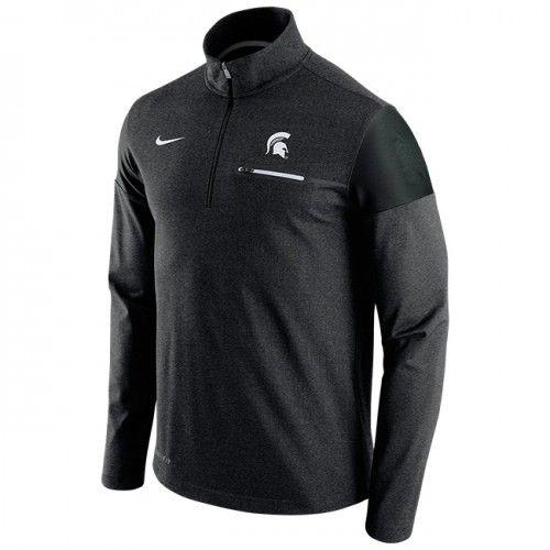 MSU 2016 Nike Dri Fit 1/4 Zip Coaches At Campus Den