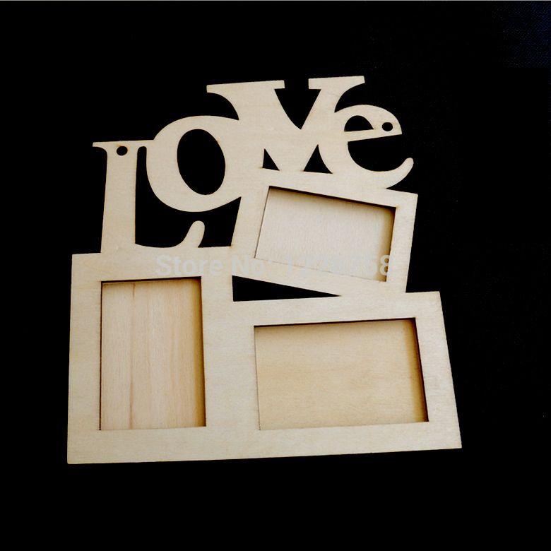 Love Wooden Photo Frame | For the Home | Pinterest | Pintar, Ideas ...