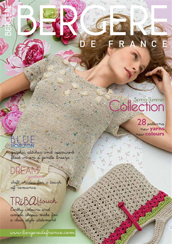 Bergere de France Summer Collection Magazine 172, all yarns and patterns available from Cocoonknits