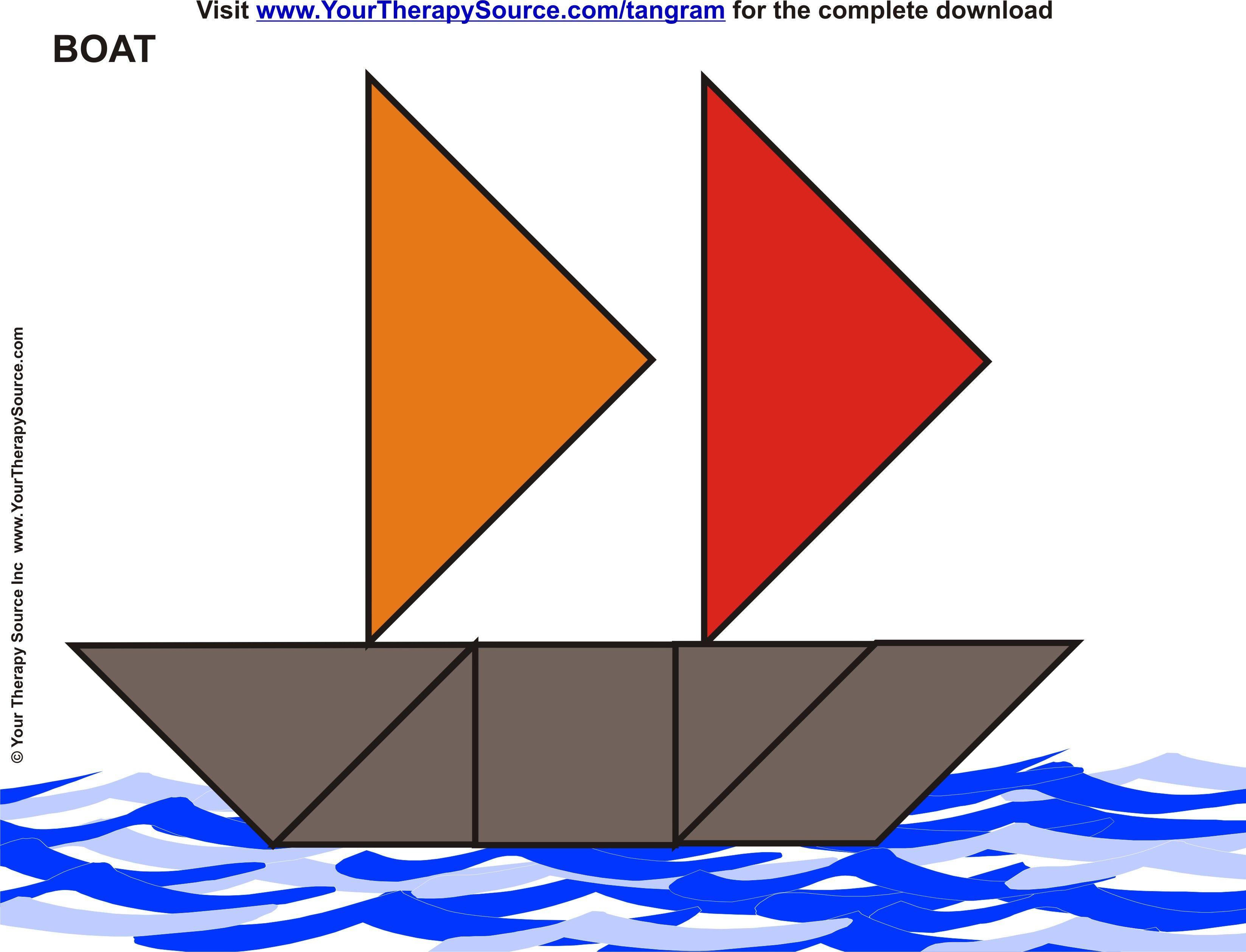 Boat Tangram