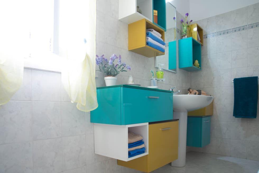 ¡Te mostramos 10 formas de ganar mucho espacio en el baño ...