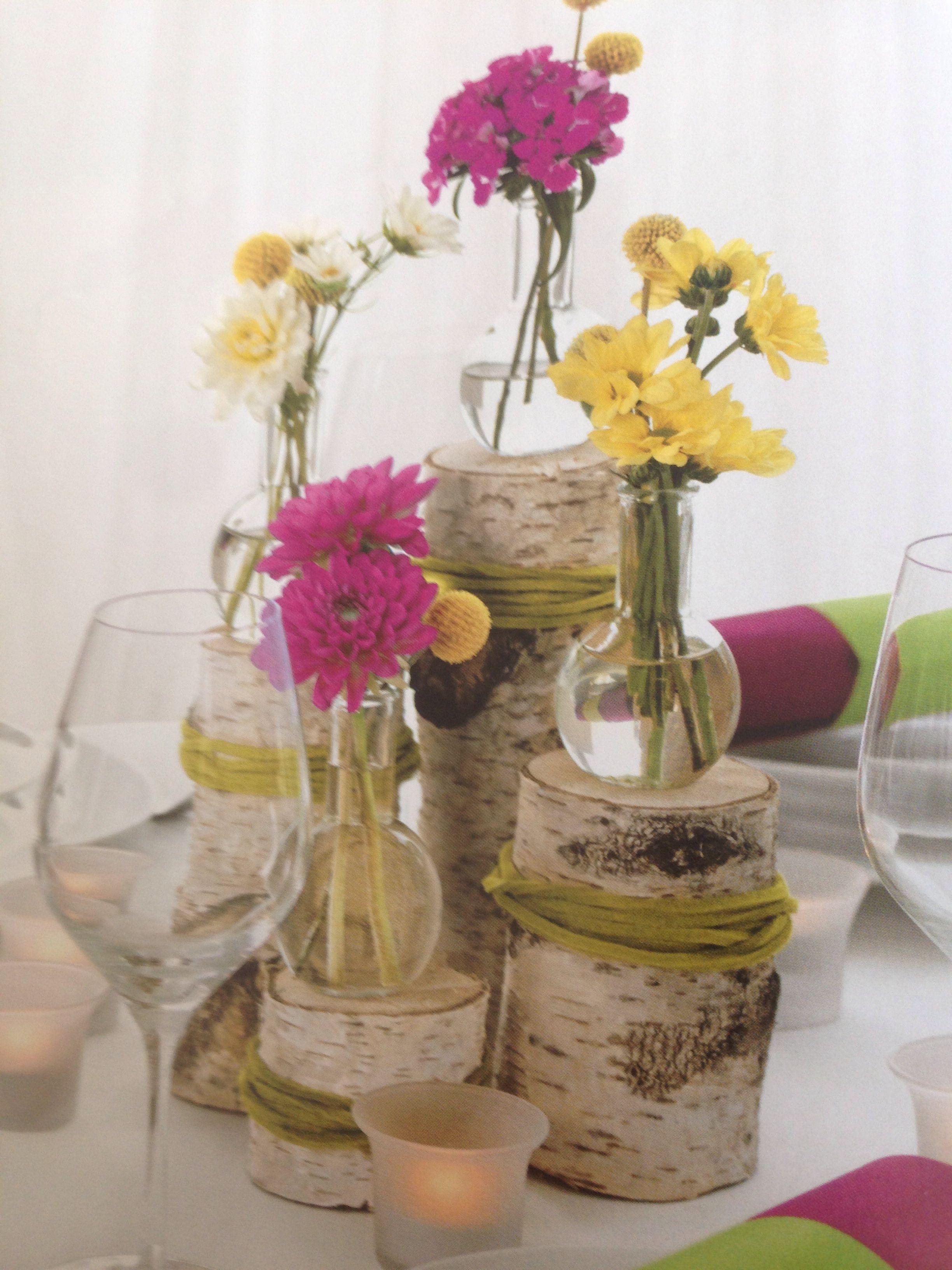 Vintage Tischdeko Holz  Hochzeit  Tischdeko hochzeit
