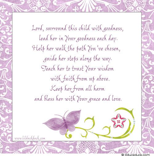 Lavender Spring Baptism Invitation Beautiful Baby Girl