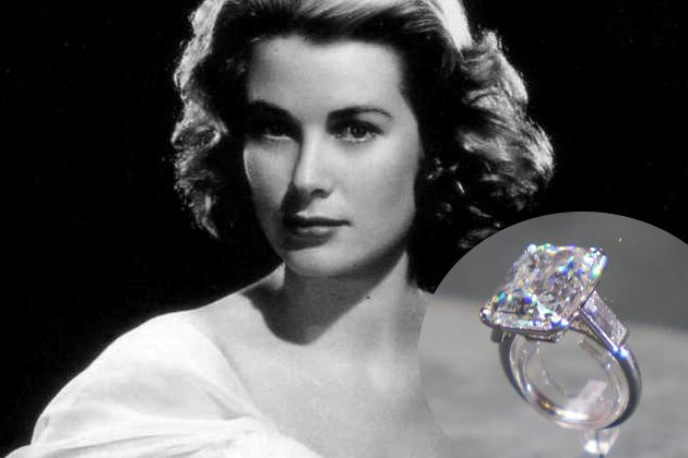 Wonderful Grace Kelly Engagement Ring From Prince Rainier