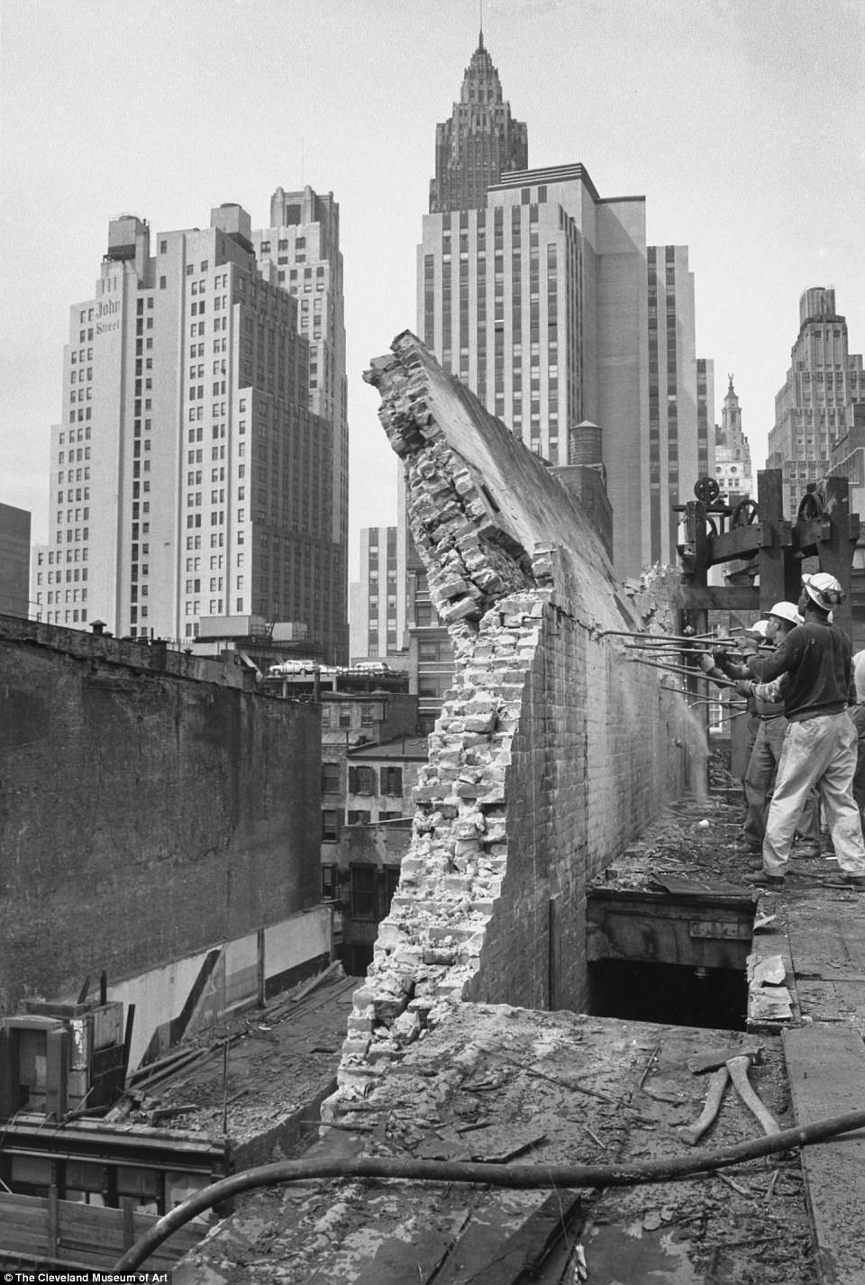 Destruction Of Old Nyc 60s Photos Show Lower Manhattan