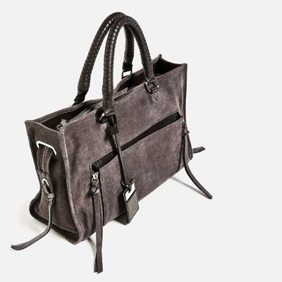 LEATHER CITY BAG-View all-BAGS-WOMAN | ZARA United States