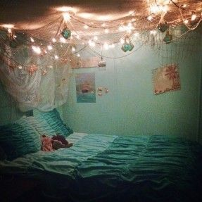 Beach Ocean Theme Bedroom More My 10 Yr Old Wants An Themed Room This Is Super Cute For Just That