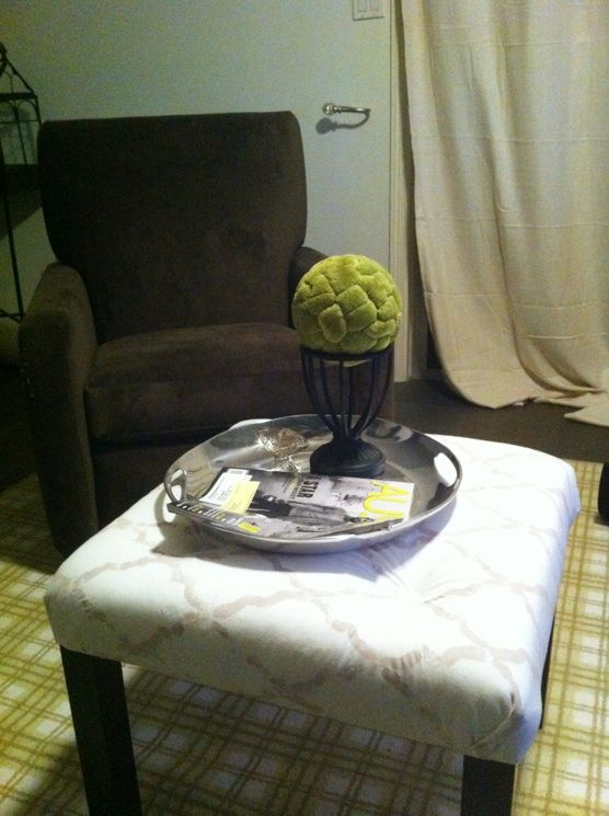 Awe Inspiring Turning An Ikea Lack Table Into A Cute Upholstered Ottoman Machost Co Dining Chair Design Ideas Machostcouk