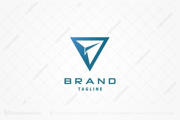 Exclusive Logo 19766 Paper Aeroplane Logo Paper Aeroplane Logo Design Abstract Logo