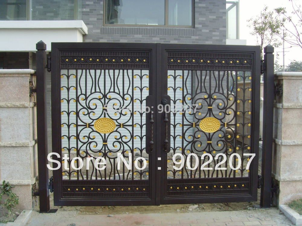 Gerbang Besi Tempa Untuk Dijual Antik Tempa Gerbang Besi Besi Tempa Gerbang Taman Fer Forge Grille Fer Forge Jardins