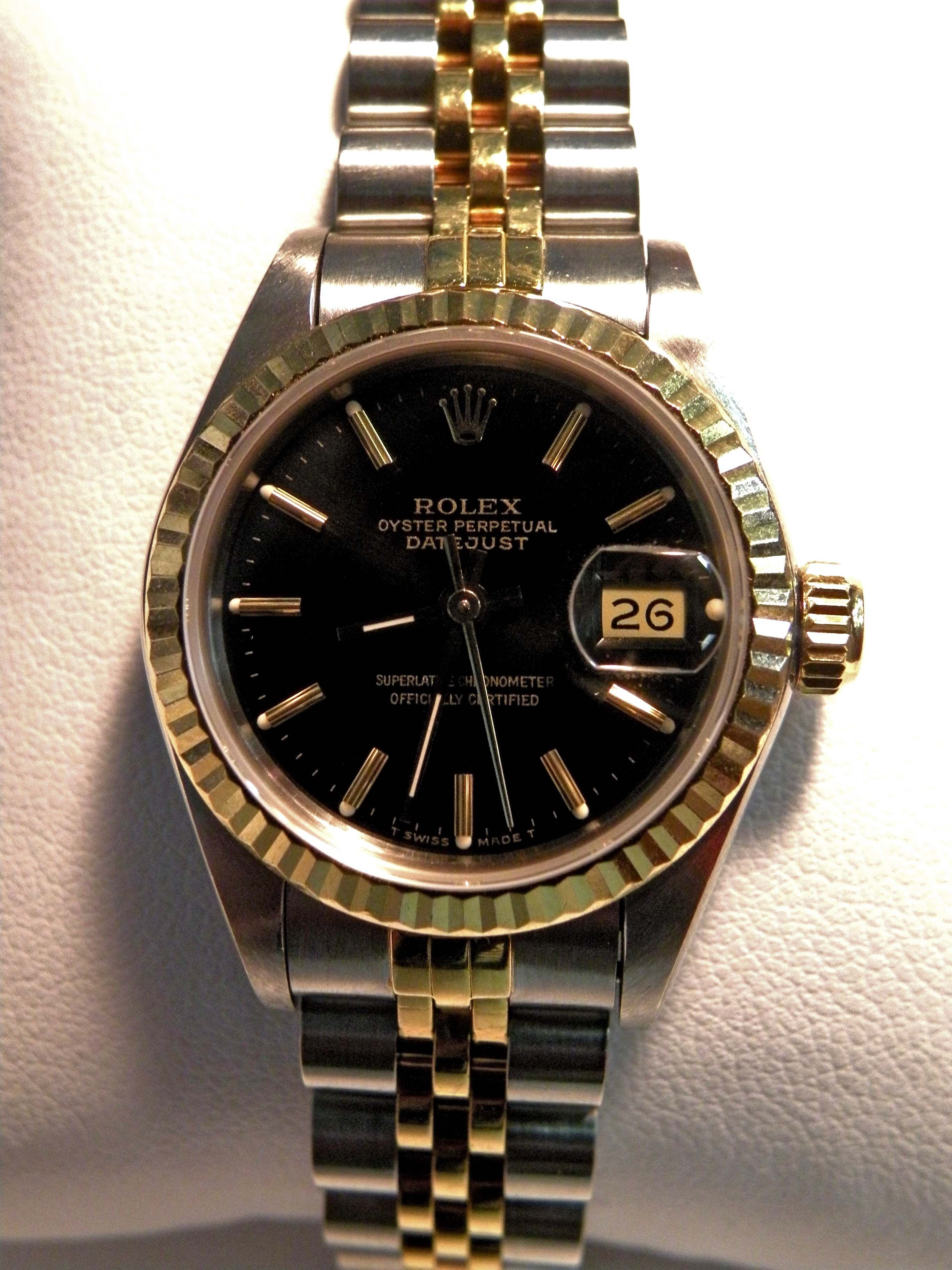 That's In Women's Rolex Perpetual Date A Our Just Oyster WE9IDH2Y