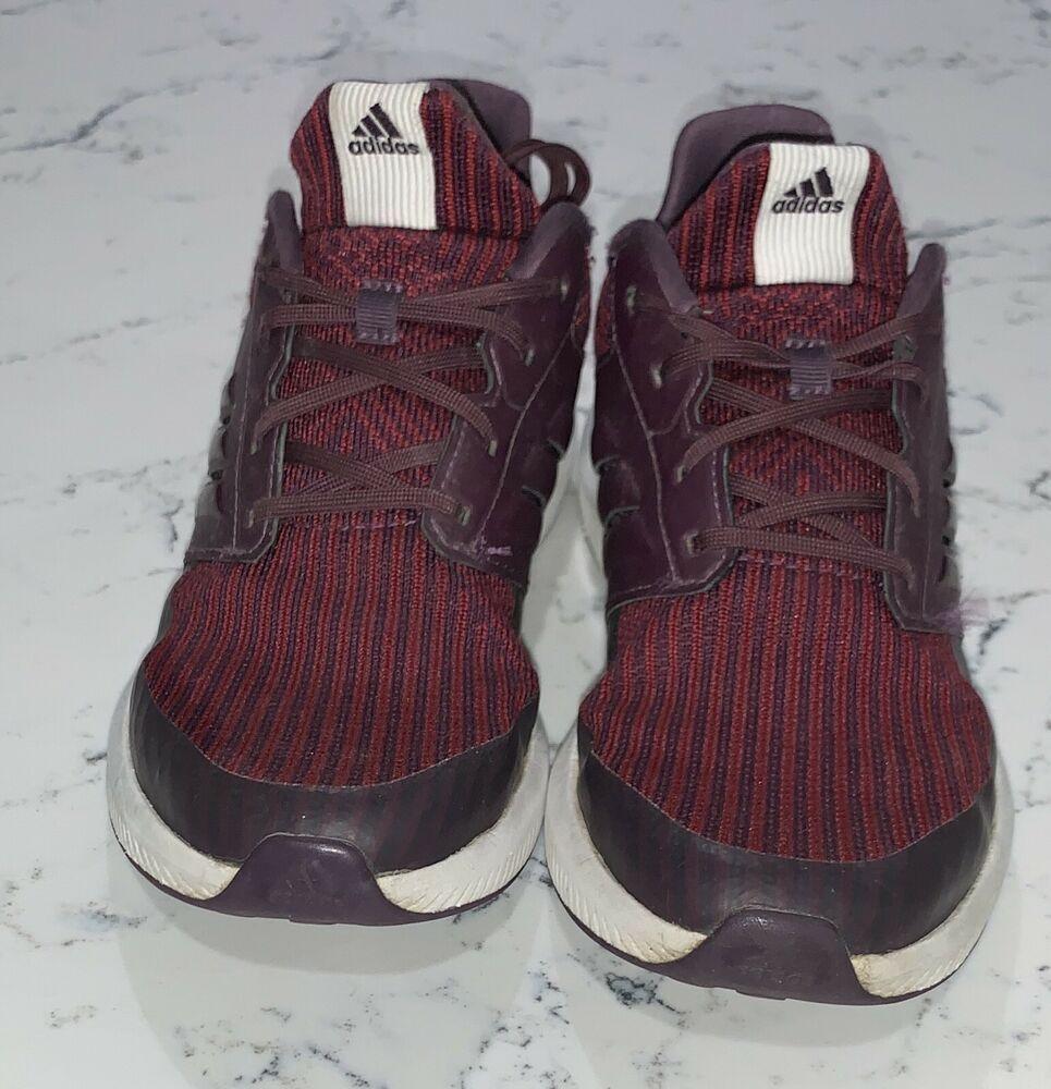 adidas RapidaRun Knit Shoes Big Kids/' Black//white sneakers