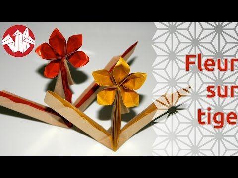 Origami fleur six ptales six petals flower senbazuru origami fleur six ptales six petals flower senbazuru youtube mightylinksfo