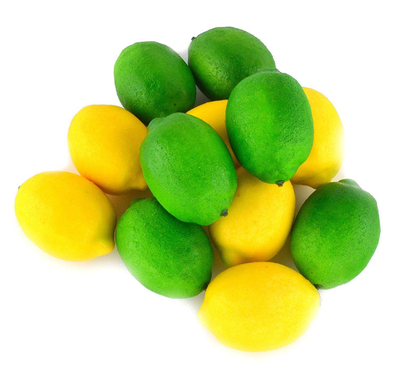 Artificial plants for kitchen - Samyo Fake Fruit Lemon Artificial Lifelike Simulation Lemon For Home House Kitchen Party Decoration 12pcs Set
