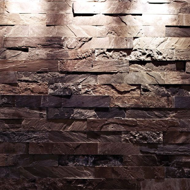 Antique Heathcliff English Reclaimed rustic wall finish sandstone tiles by Lapicida.com.
