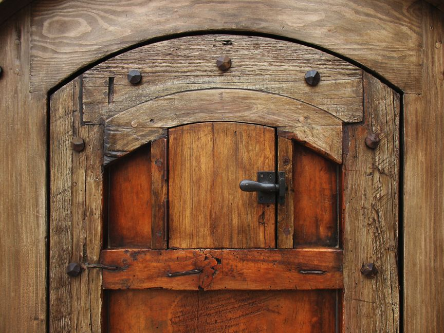 Wine Cellar Doors Grillwork Seems To Be A Common Theme