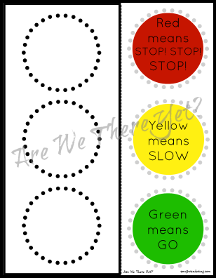 photo regarding Traffic Light Printable identify No cost Site visitors Mild Lower Paste Printable Co-op Preschool