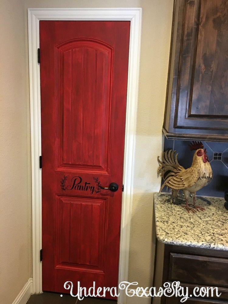 Best Distressed Pantry Door Diy Diy Door White Panel Doors 400 x 300