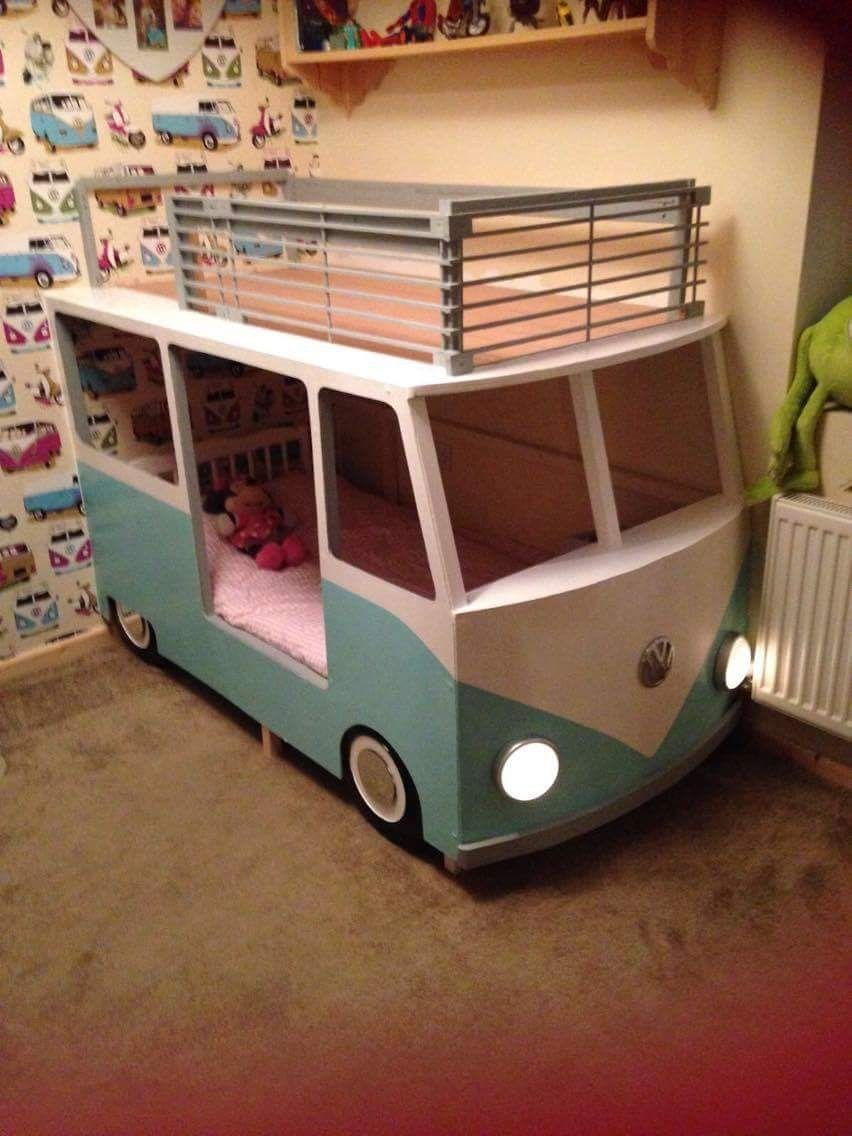 How To Build A Vw Camper Bed We Wanted To Make Bunk Beds For Our 3