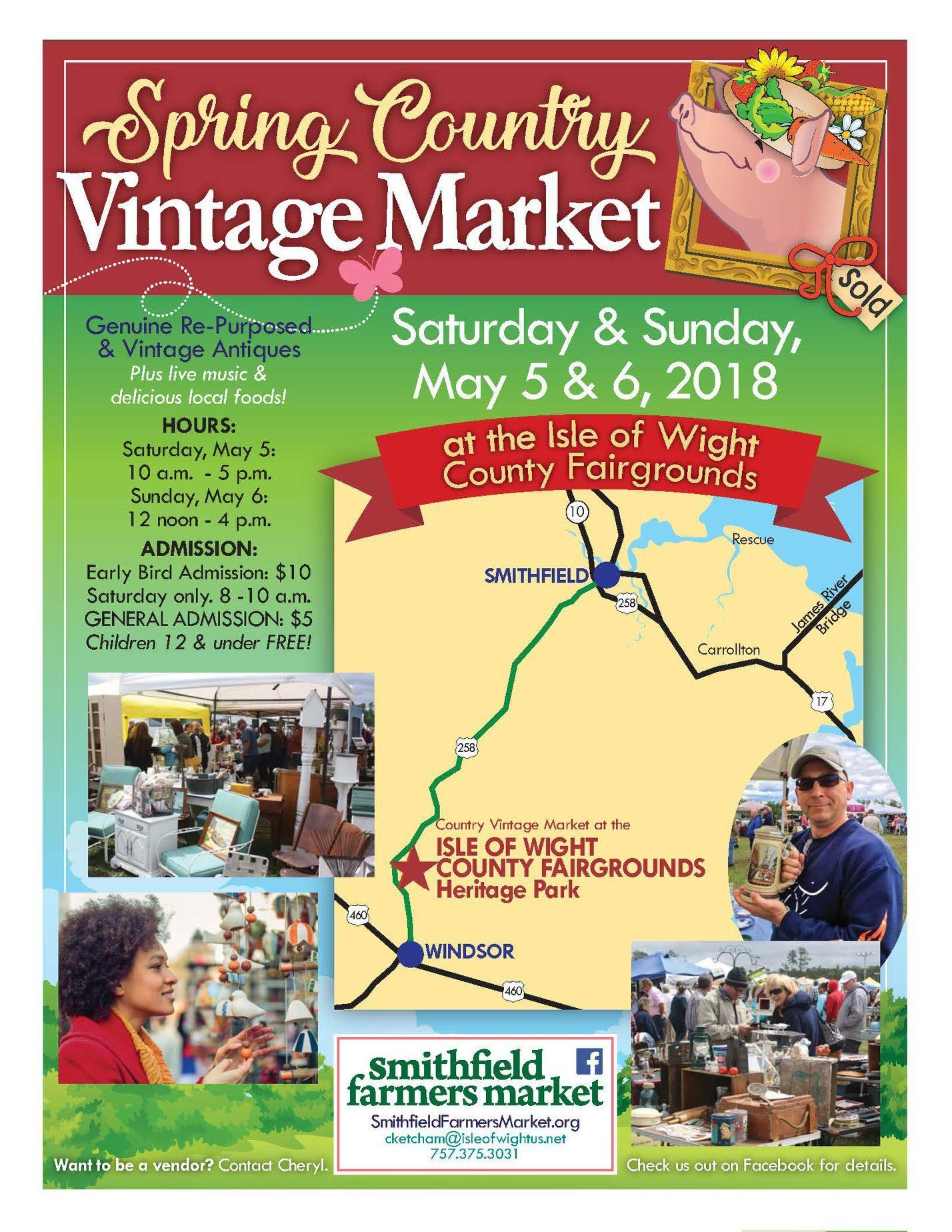 Spring Country Vintage Market is this weekend in