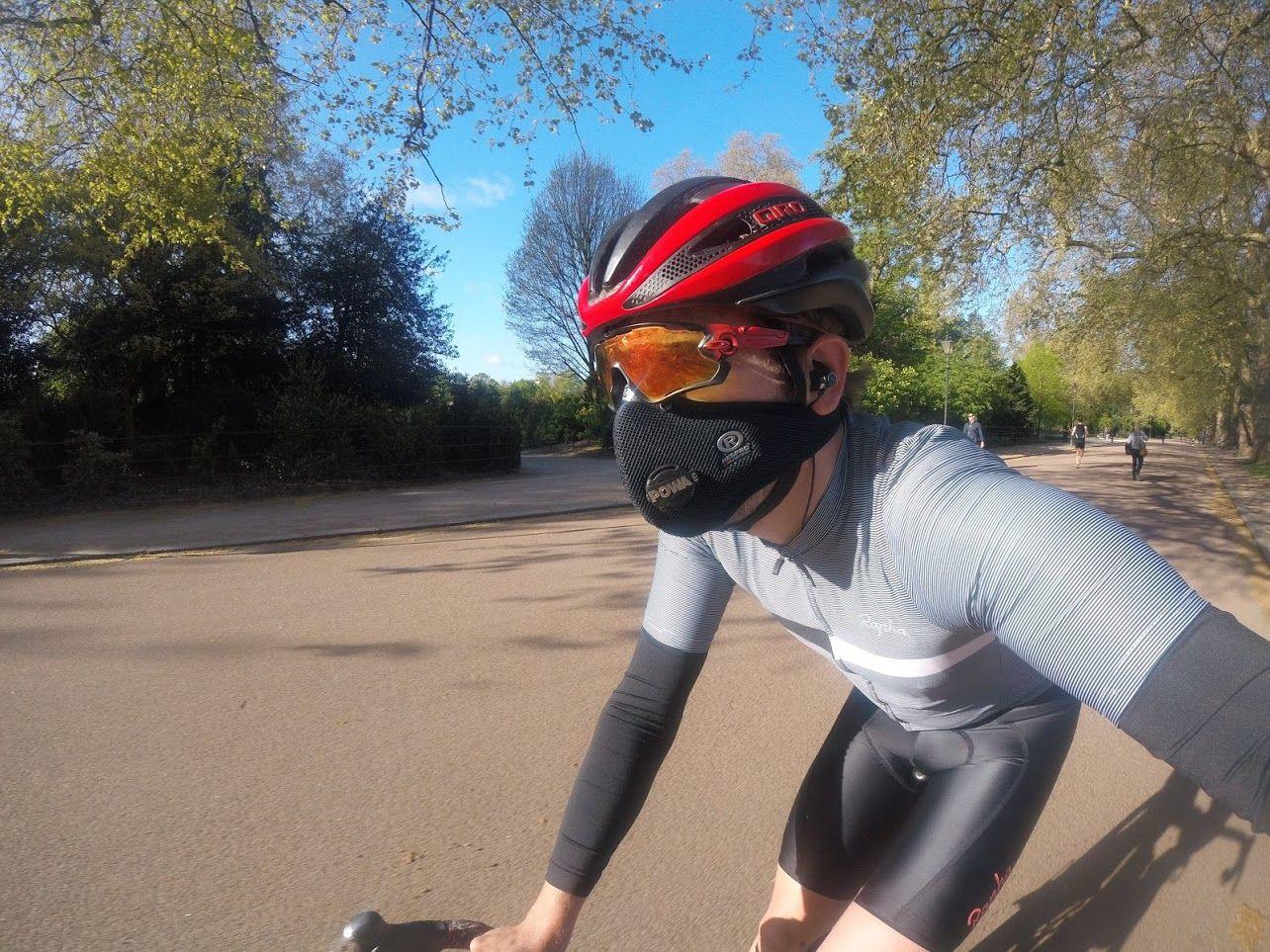 Cycling masks, a breath of fresh air? Respro ultralight