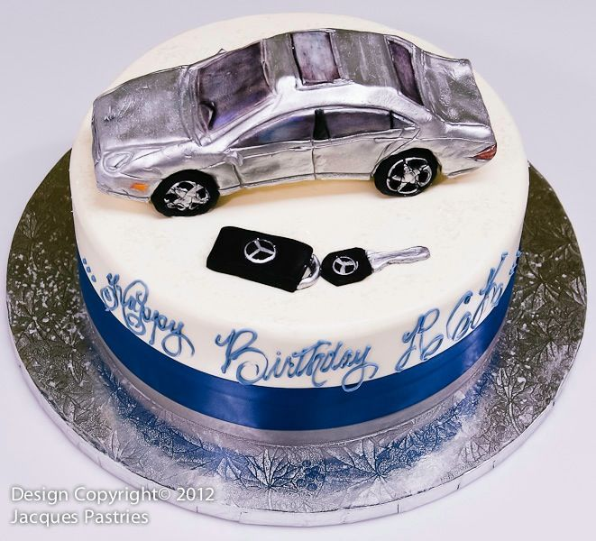 Mercedes Benz Cake Adult Birthday Cakes 35th Name Gallery