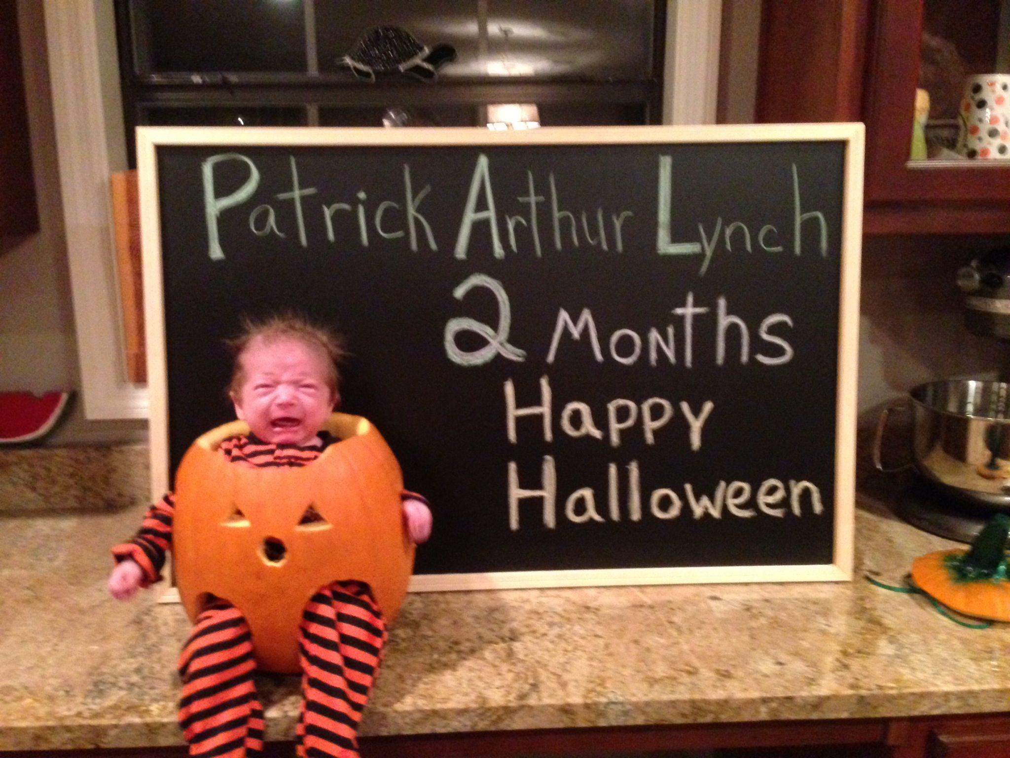 Creative Baby in Pumpkin